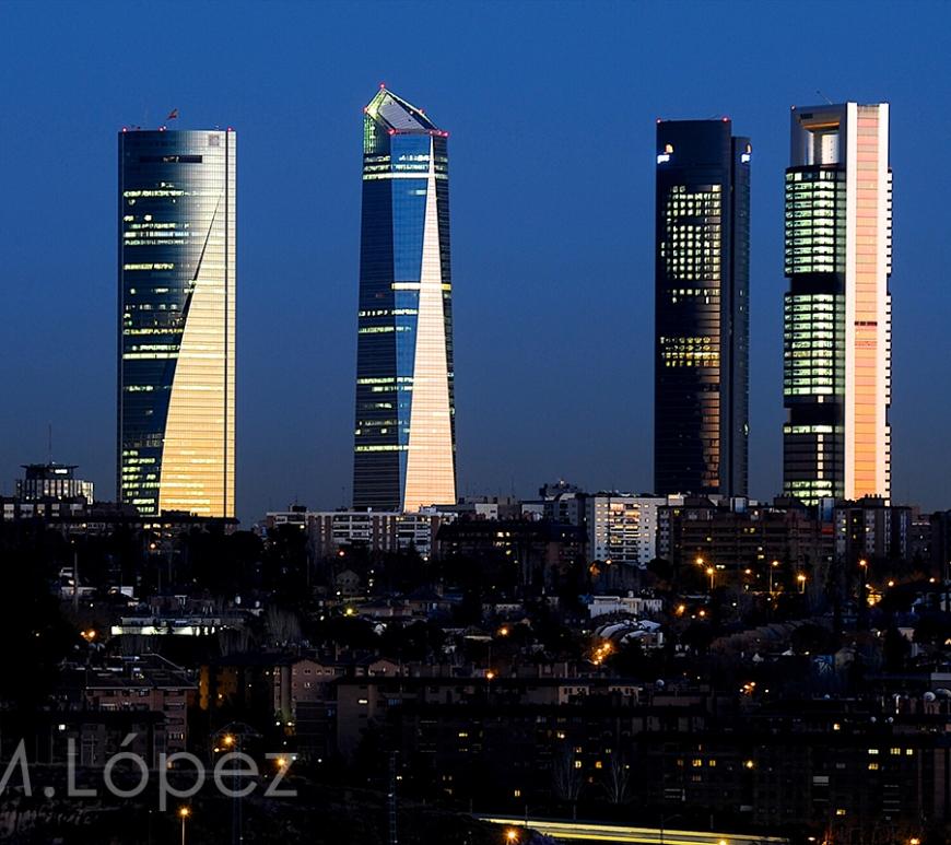 Cuatro Torres, Madrid.